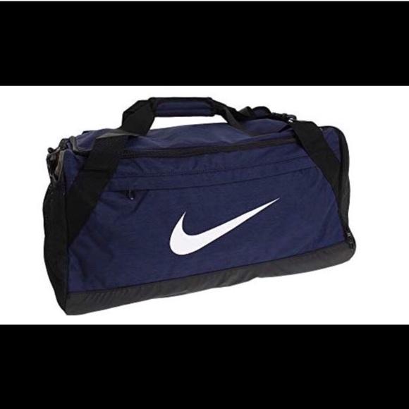 f49efd0382c9 Nike Brasila NWT Duffel Bag Navy Blue - Medium